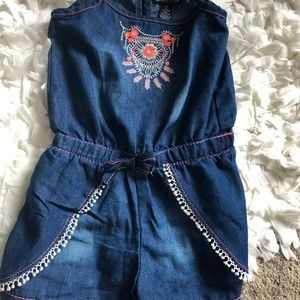NWT Limited Too Onesie blue Size 3T